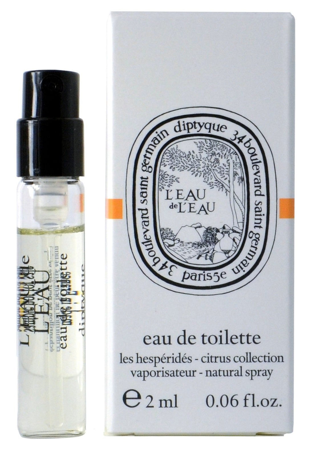L'eau de L'eau by Diptyque Vial Sample