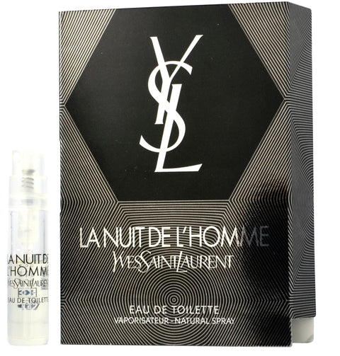 La Nuit De L'homme by YSL Vial Sample