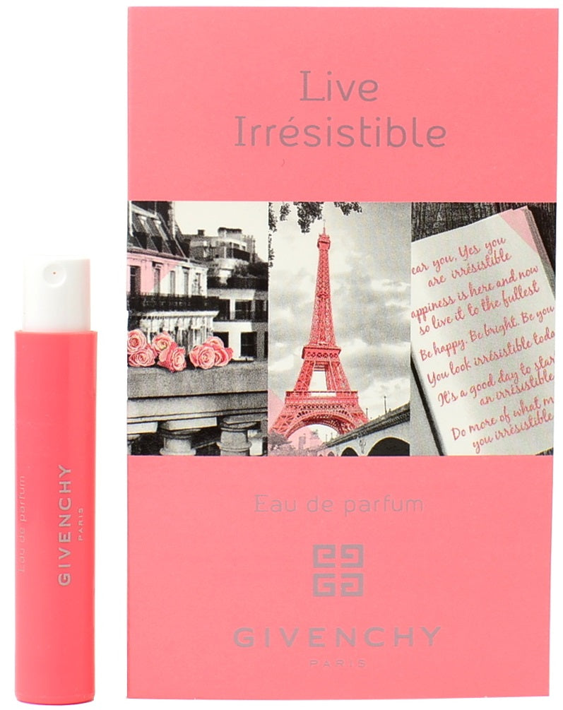 Live Irresistible by Givenchy  Spray Perfume Vial Sample 1ml - 0.03oz