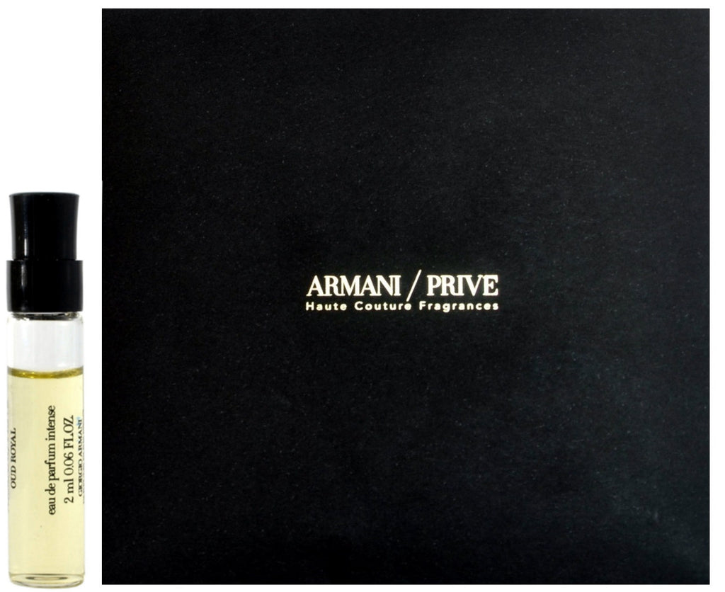 Armani Prive Oud Royal by Giorgio Armani Perfume Vial Sample