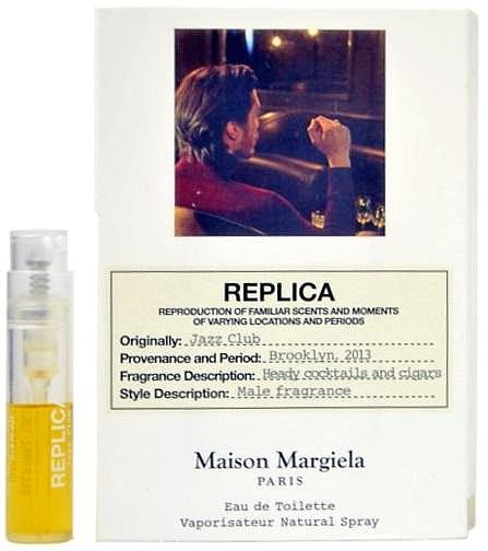Maison Margiela Replica Jazz Club Fragrance Vial Sample
