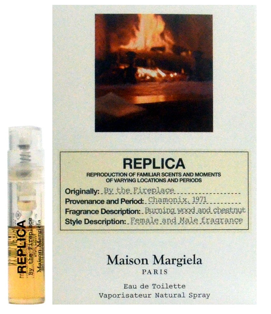 Replica By The Fire Place by Maison Margiela Vial Sample  1.5ml - 0.05oz Spray EDT.