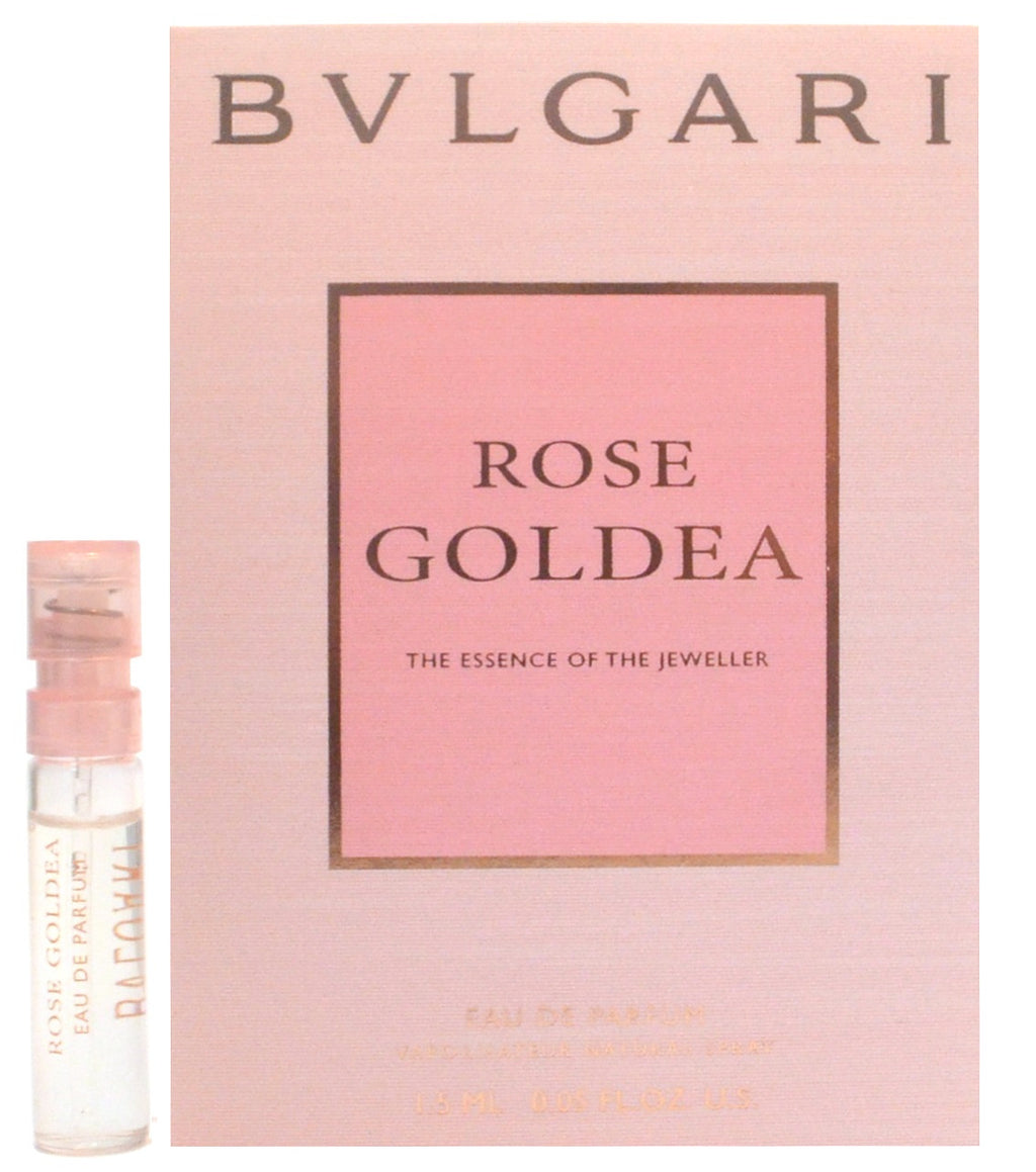 Rose Goldea by Bvlgari 1.5ml - 0.05oz EDP Spray Perfume Vial Sample.