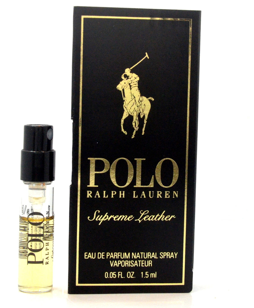Polo Supreme Leather by Ralph Lauren Vial Sample