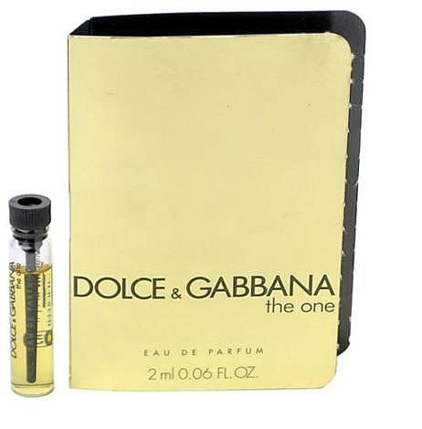 Dolce & Gabbana The One Perfume Vial Sample