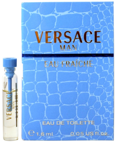 Versace Man by Versace Eau Fraiche Vial Sample