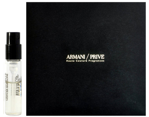 Armani Prive Vetiver Babylone by Giorgio Armani Perfume Vial Sample