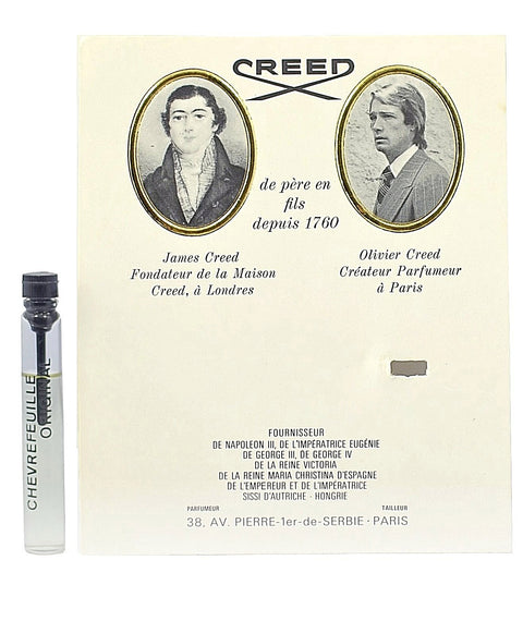 Chevrefeuille Original by Creed Vial Sample