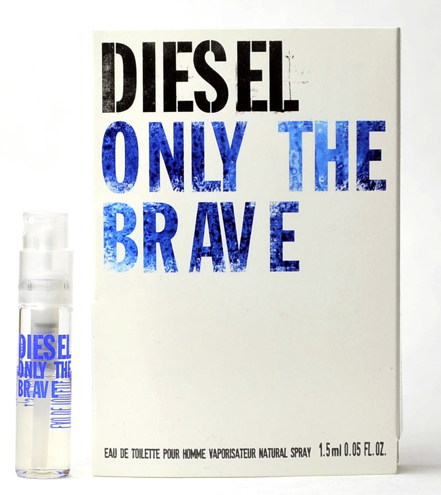 Deisel Only The Brave Vial Cologne Vial Sample