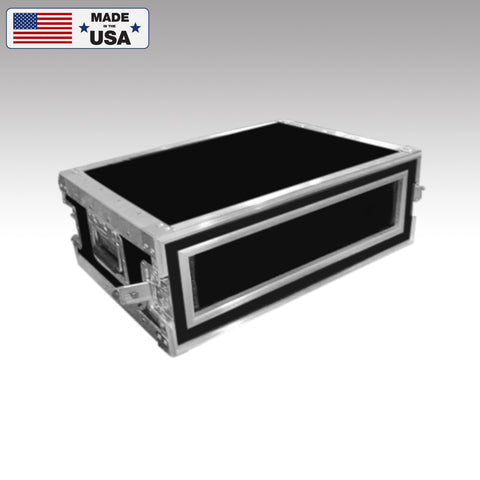 Heavy Duty 2 Space Shockmount Custom Rack Case