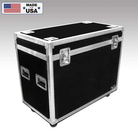 Custom Double Moving Head Road Case