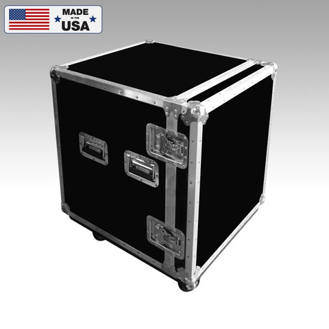3 Drawer Microphone Workbox Custom Road Case