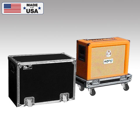 Custom Orange Speaker Cabinet Road Case