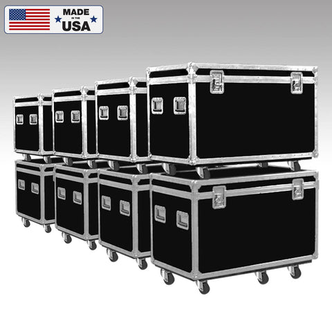 Half Pack Cable Trunk Road Case