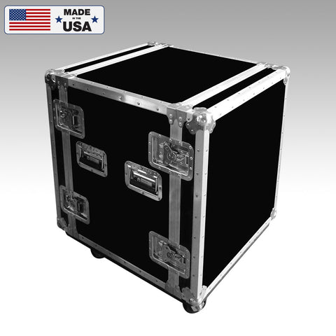 14 Space Customized Shockmount Rack Cases