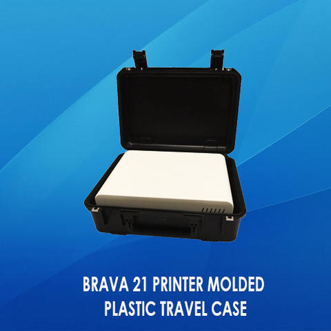 BRAVA 21 PRINTER MOLDED PLASTIC TRAVEL CASE