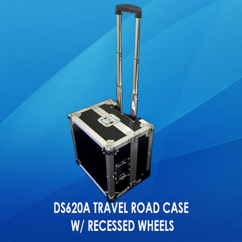 DS620A TRAVEL ROAD CASE W/ RECESSED WHEELS