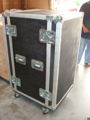 Heavy Duty 26 Space Shockmount Custom Rack Cases