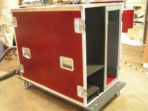 Custom Pioneer TV Screen Super Duty Road Case