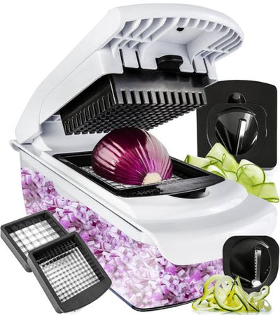 Vegetable Chopper Spiralizer Slicer & Dicer - Falenla