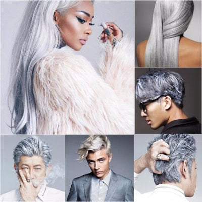 Unisex DIY Temporary Modeling Hair Color Wax - 7 Colors - Falenla