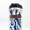Stainless Steel Tumbler, Blue Fern