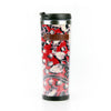 Stainless Steel Tumbler, Red Festival