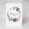 Circle of Thanks Greeting Card