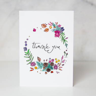 Greeting cards my sanctuary shop circle of thanks greeting card m4hsunfo