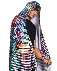 THE FUTURE HOODED BLANKET
