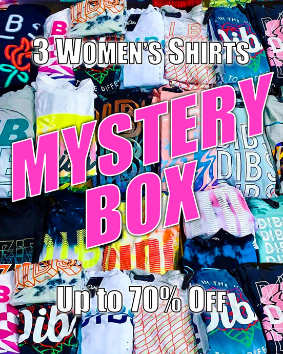 WOMENS MYSTERY BOX *3 TEES*