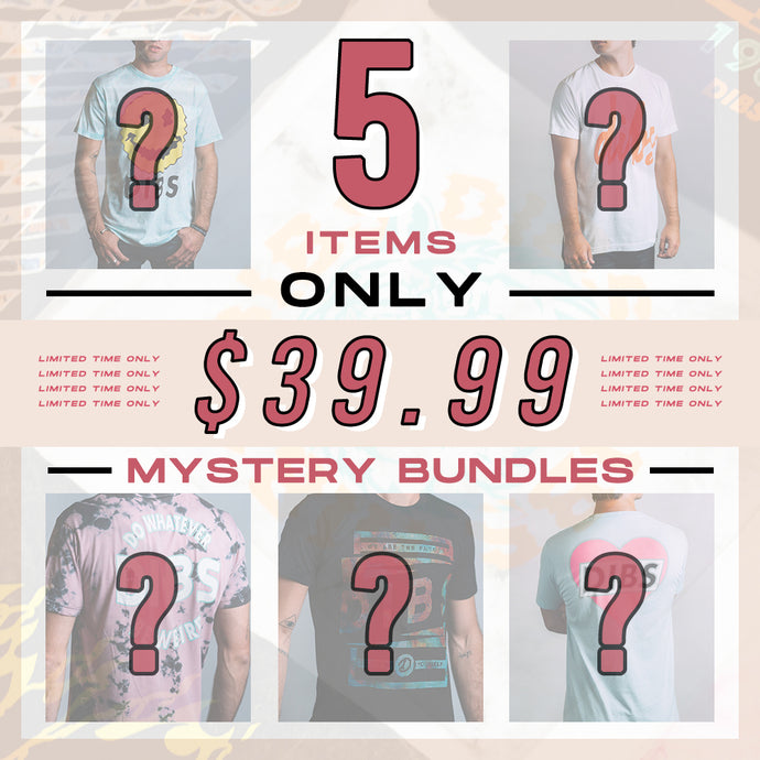 MEN'S MYSTERY BUNDLE *5 ITEMS*