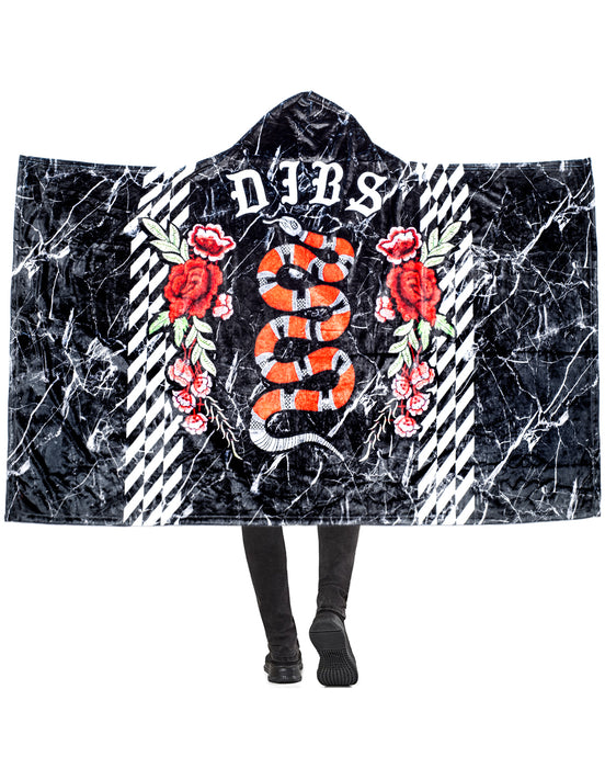 ROYALTY HOODED BLANKET
