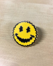 SMILEY ENAMEL PIN
