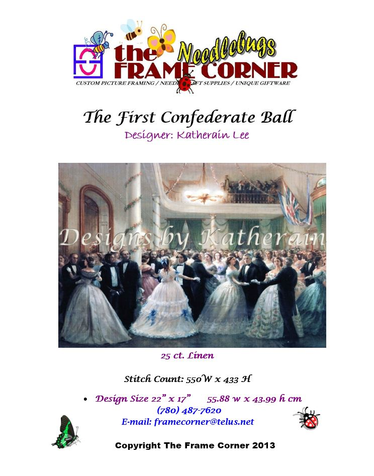 The First Confederate Ball