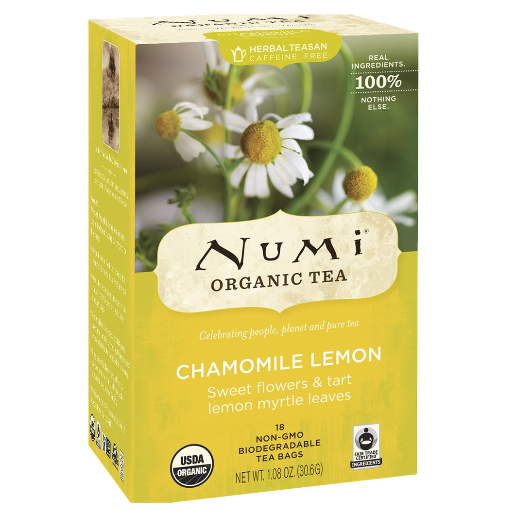 Numi Chamomile Lemon Tea