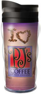 PJ's Tumbler: I Love PJ's (purple)