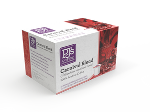 Carnival Blend Single Serve Box