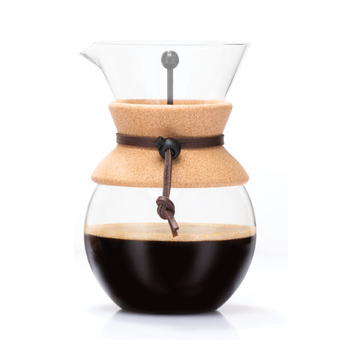 Bodum Pour Over Coffee Maker with Permanent Filter, 34 oz