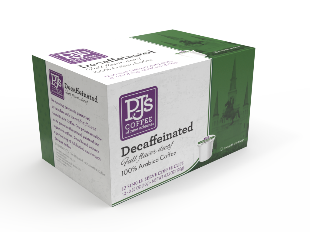 Decaf Single Serve Box