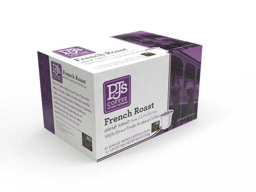French Roast Single Serve Box