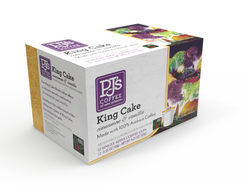 King Cake Single Serve Box