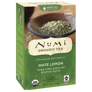 Numi Mate Lemon Tea