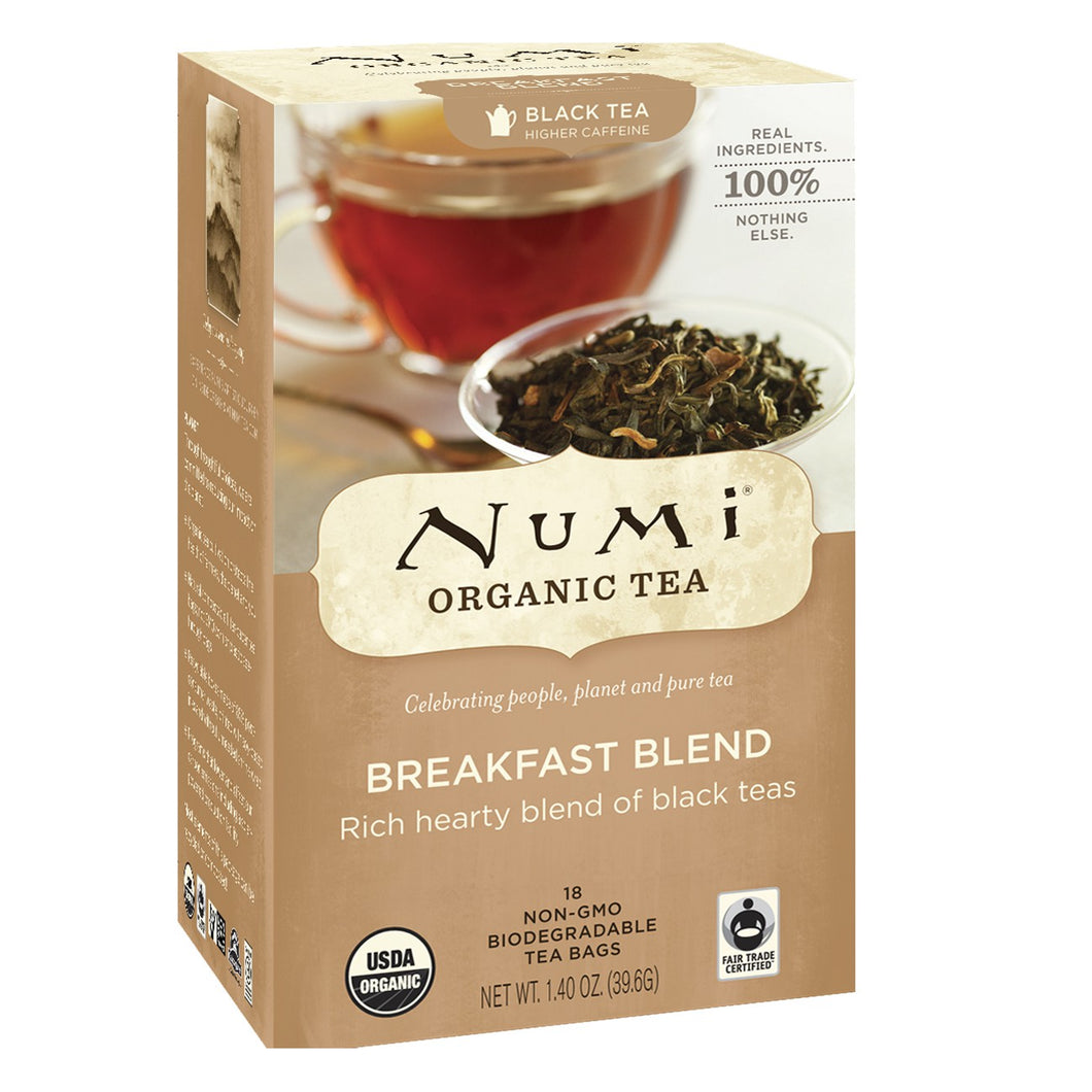 Numi Breakfast Blend Tea