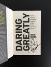 Brené Brown's Daring Greatly - Signed Copy