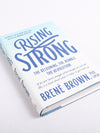 Brené Brown's Rising Strong - Signed Copy