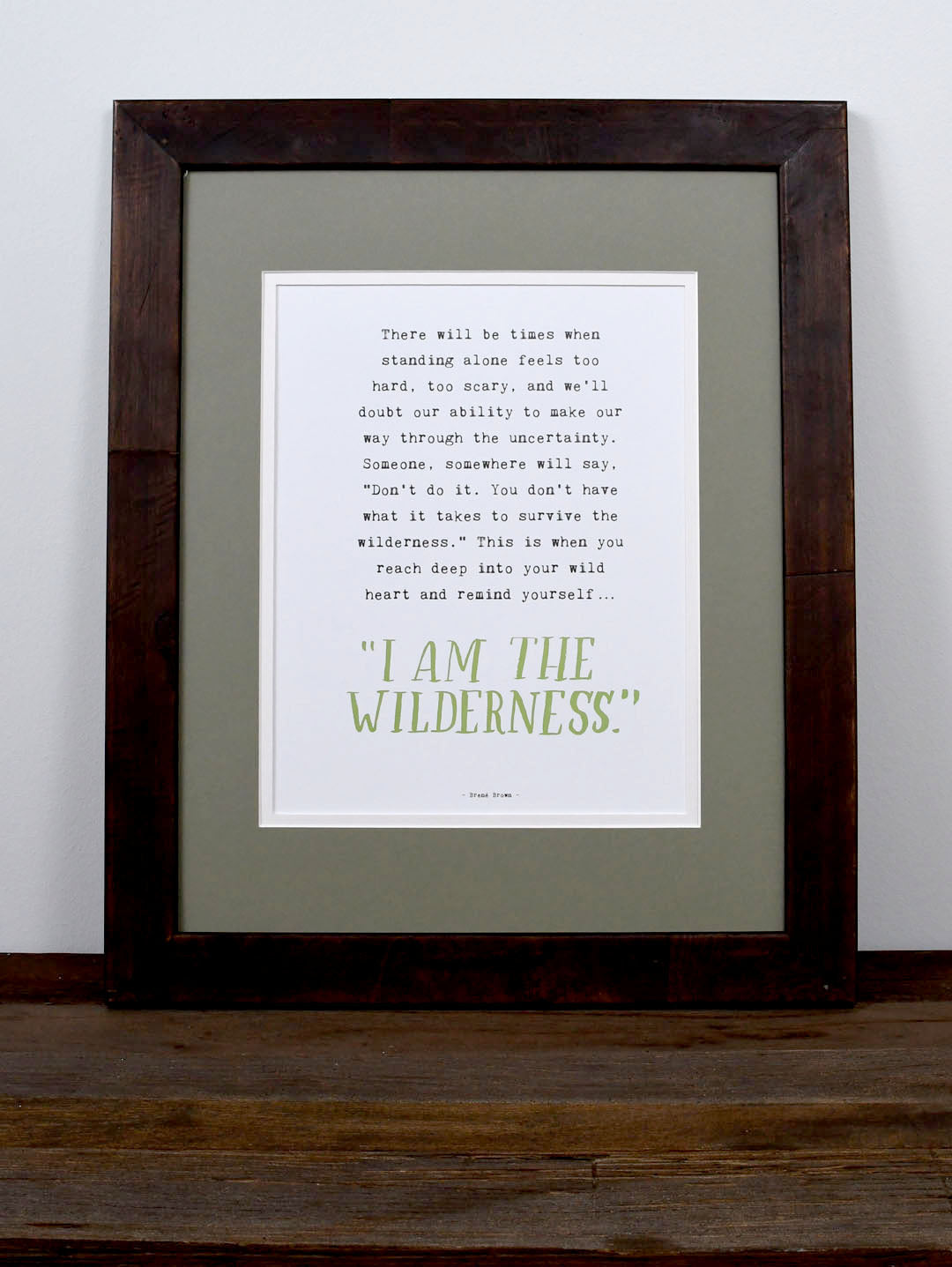 Into The Wild Book Quotes Art Prints  The Marble Jar  Brené Brown