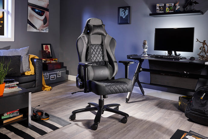X Rocker Delta Office Gaming Chair (Silver Limited Edition)