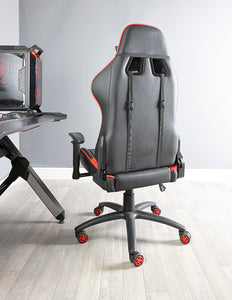 X Rocker®Flare PC Office Chair (Red/ Black)