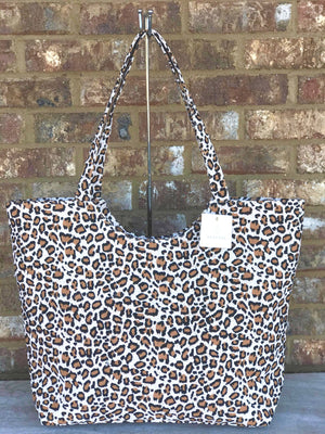 Full Cheetah Tote